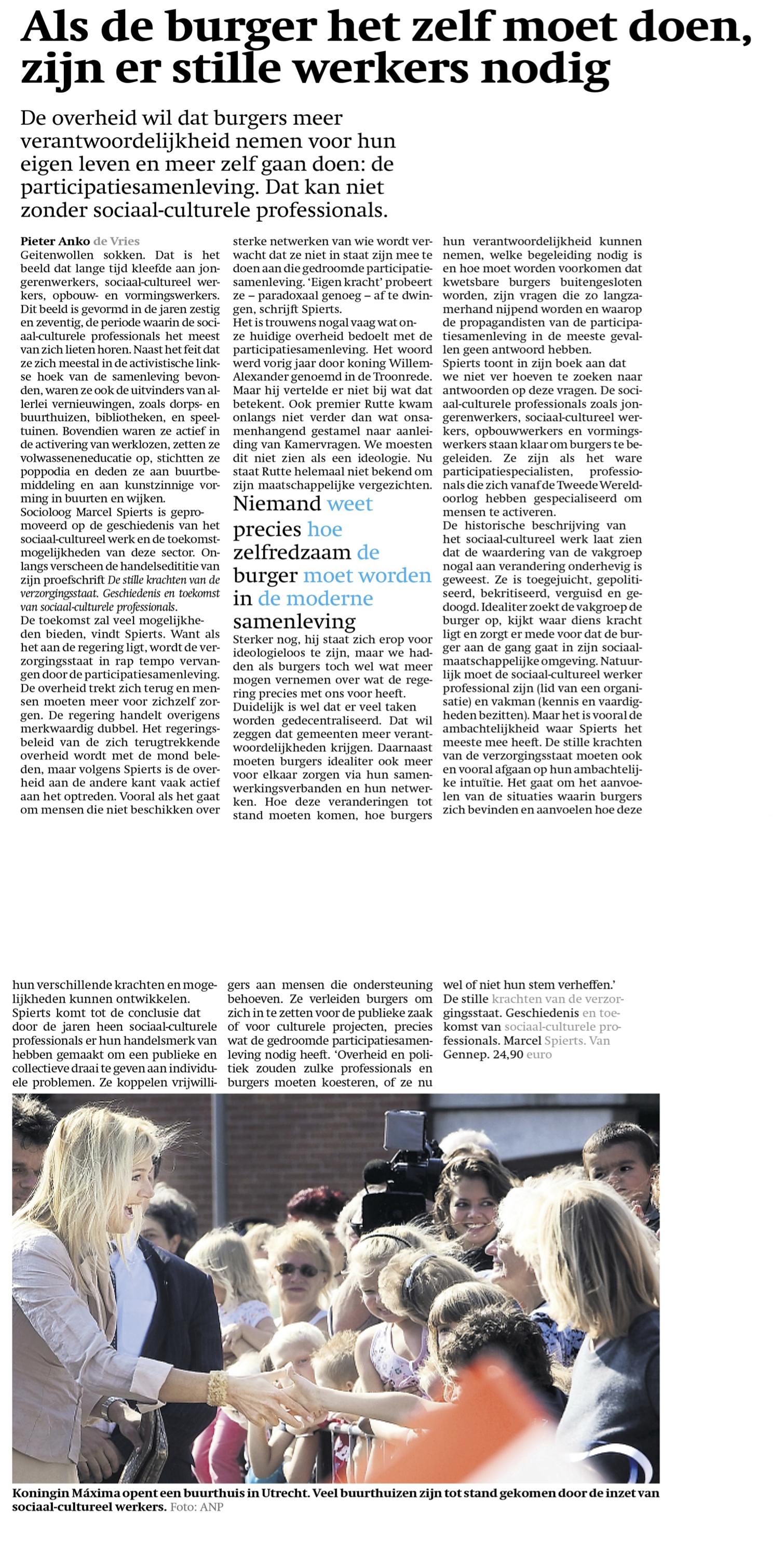 Recensie-Friesch-Dagblad_140822 marcel spierts